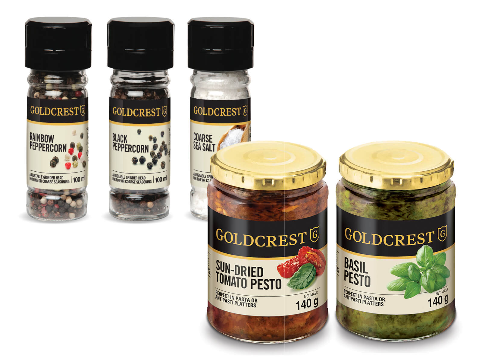 Goldcrest Condiments